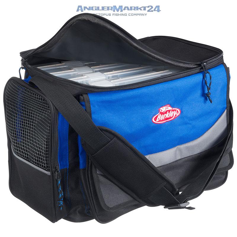 """BERKLEY """"System Bag XL + 4 Boxes"""" Angeltasche inklusive 4 Klarsichtboxen"""