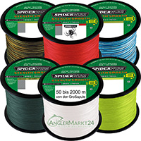 NEW Spiderwire Stealth SMOOTH 8 ab 50m alle Stärken & Farben