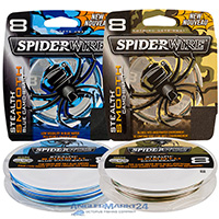 "300m ""SpiderWire Smooth 8"" Camo Blue & Camo Originalspule"