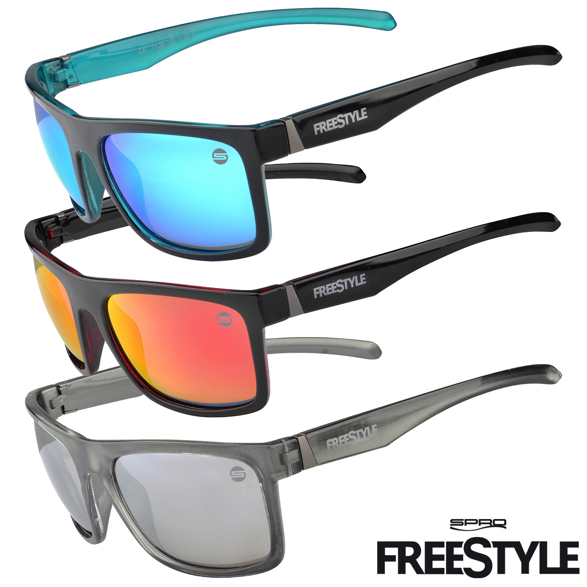 SPRO FreeStyle Sunglasses - Polarisationsbrille in 3 Farben