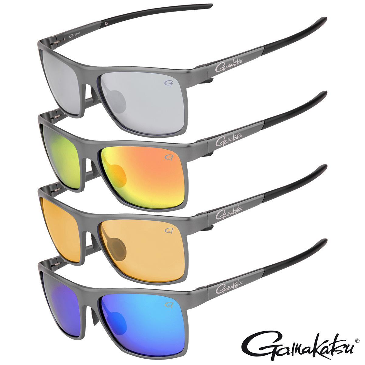 Gamakatsu G-Glasses ALU Polarisationsbrille in 4 Farben