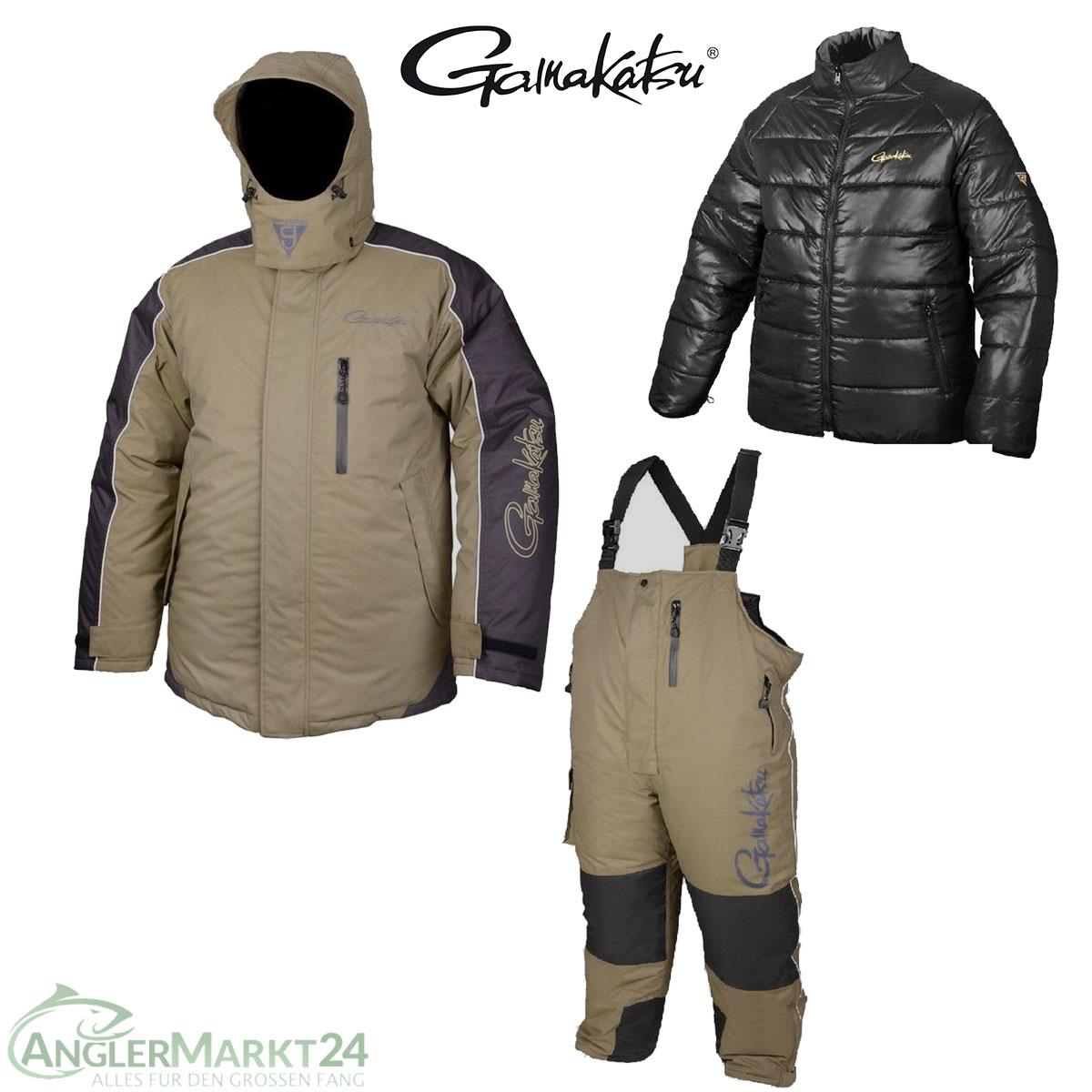 Gamakatsu HYPER Thermal Anzug Khaki XXL Thermoanzug extrem warm oliv Suits