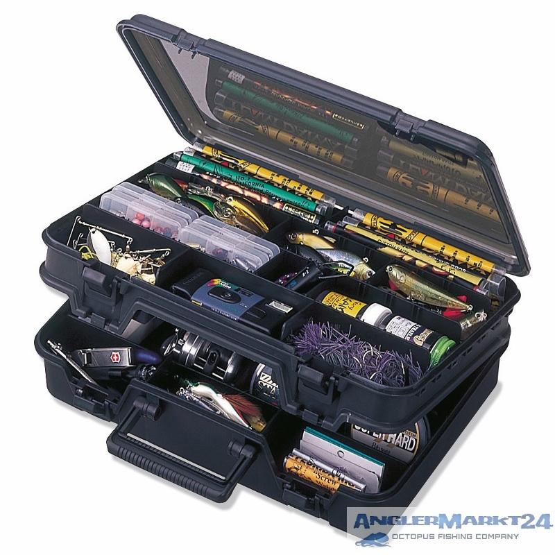 MEIHO VERSUS VS 3070 schwarz Doppelklappbox