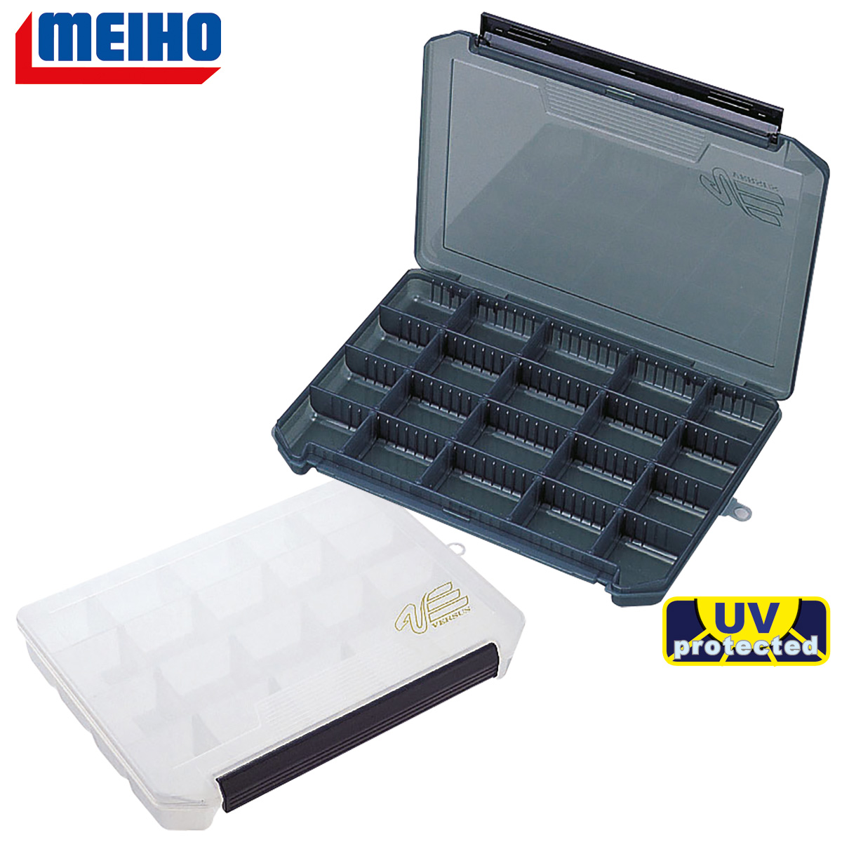 MEIHO Versus VS-3020 ND schwarz-klar oder weiß-klar