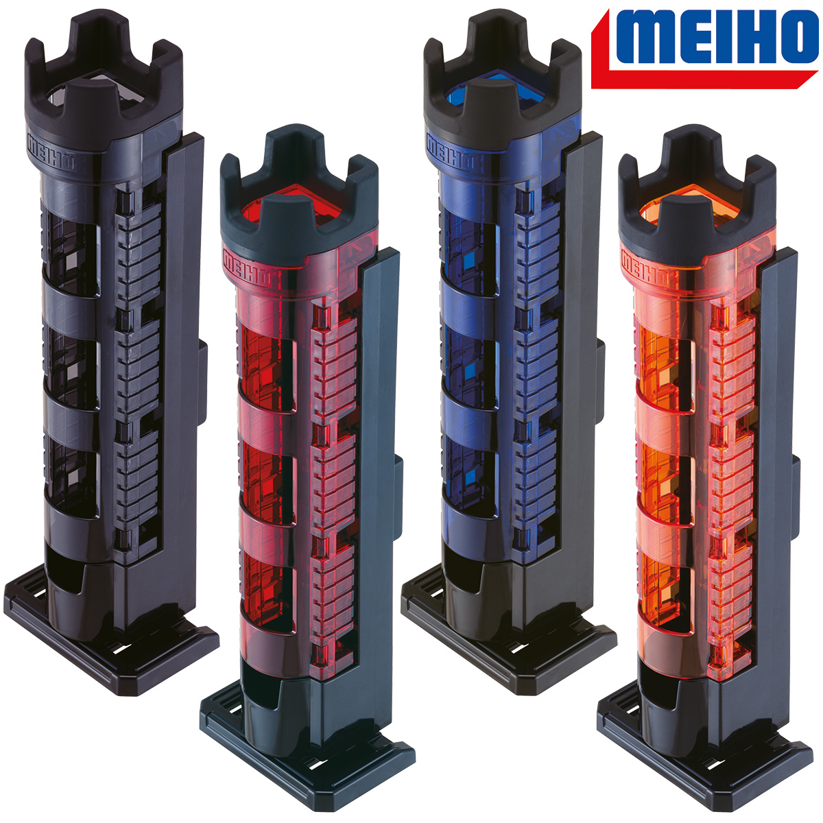 MEIHO BM-300 Light Rutenhalter Farbauswahl