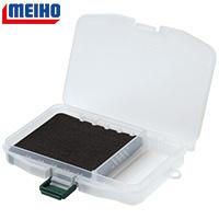 MEIHO Slit Form Case F-7 Köderbox mit geschlitzter Hartschaumeinlage