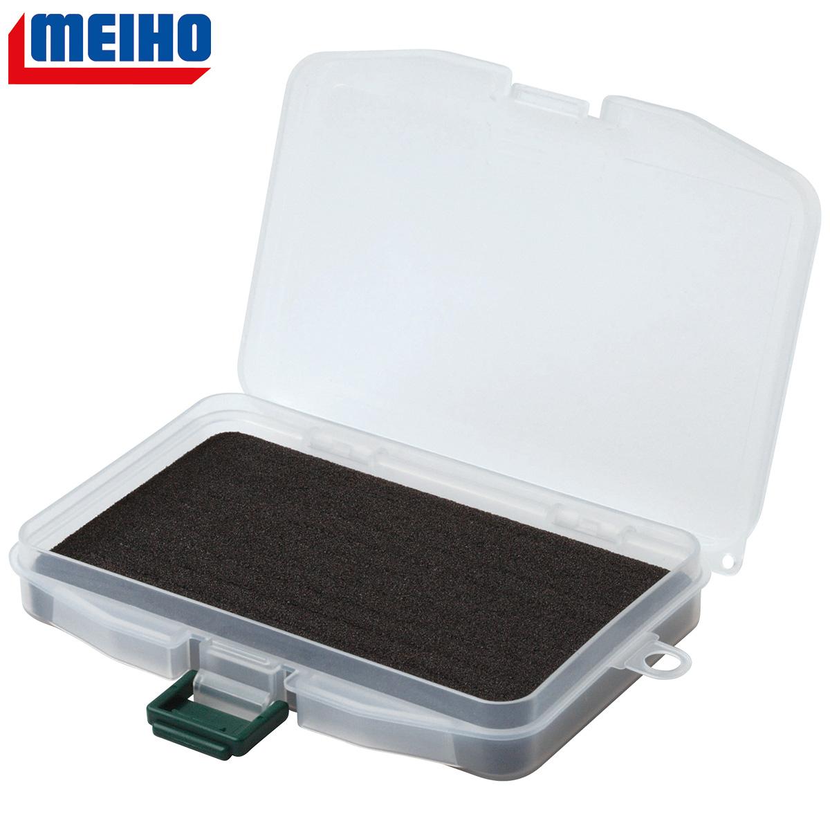 MEIHO Slit Form Case F-9 Köderbox mit geschlitzter Hartschaumeinlage