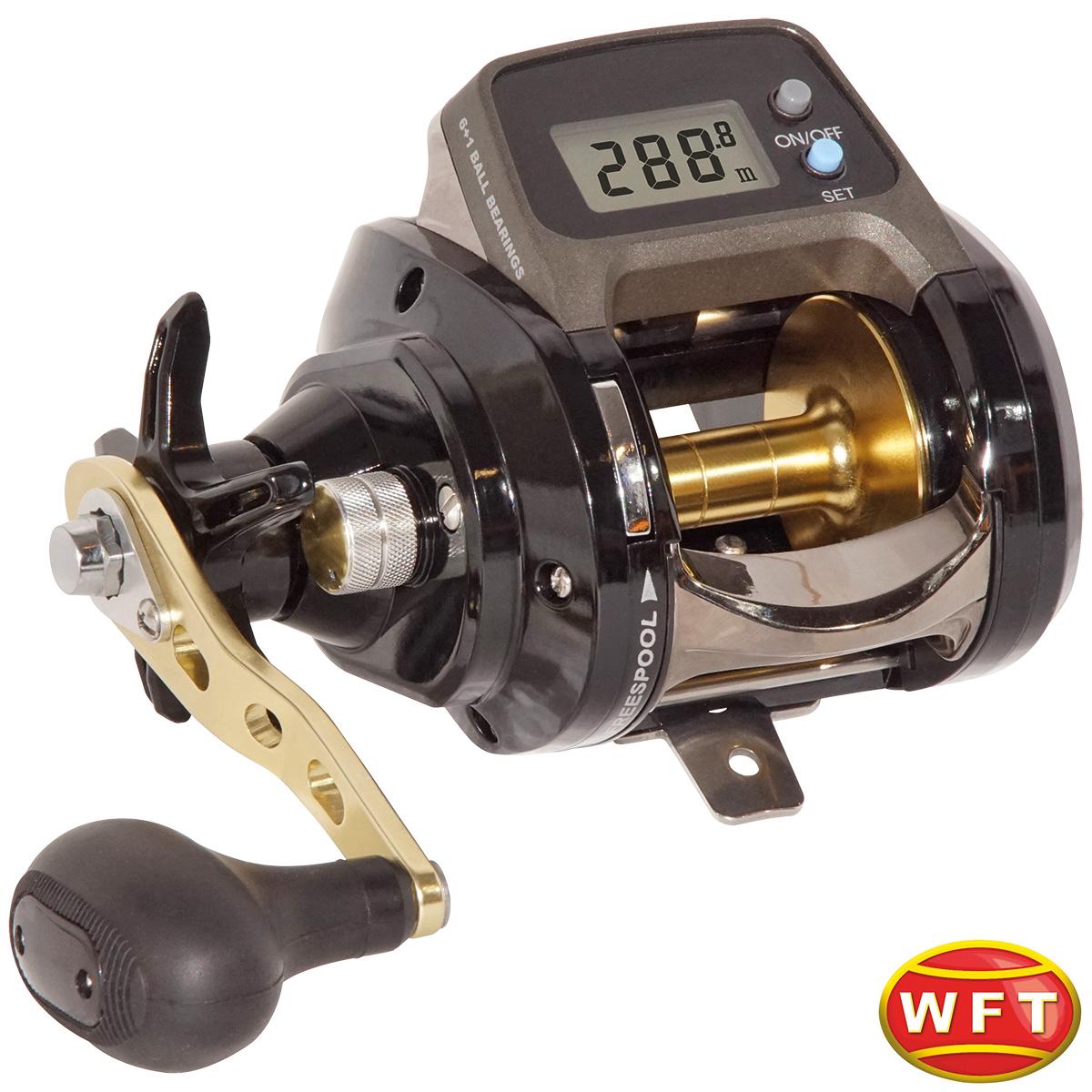 """WFT """"LineCounter 865 LC LH"""" Multirolle mit digitalem Schnurzähler"""