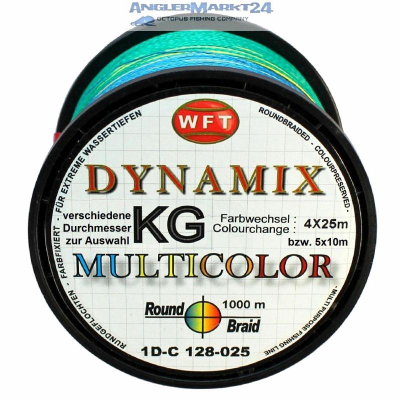 WFT Round DYNAMIX KG 1000m MULTICOLOR Originalspule