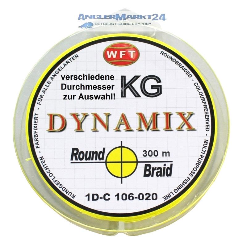 WFT Round DYNAMIX KG GELB 300m Original-Spule