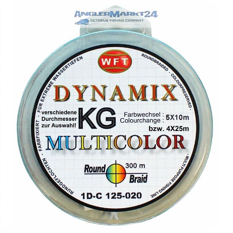 300m Originalspule WFT Round DYNAMIX KG MULTICOLOR