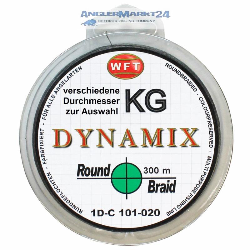 WFT Round DYNAMIX KG GRÜN 300m Original-Spule