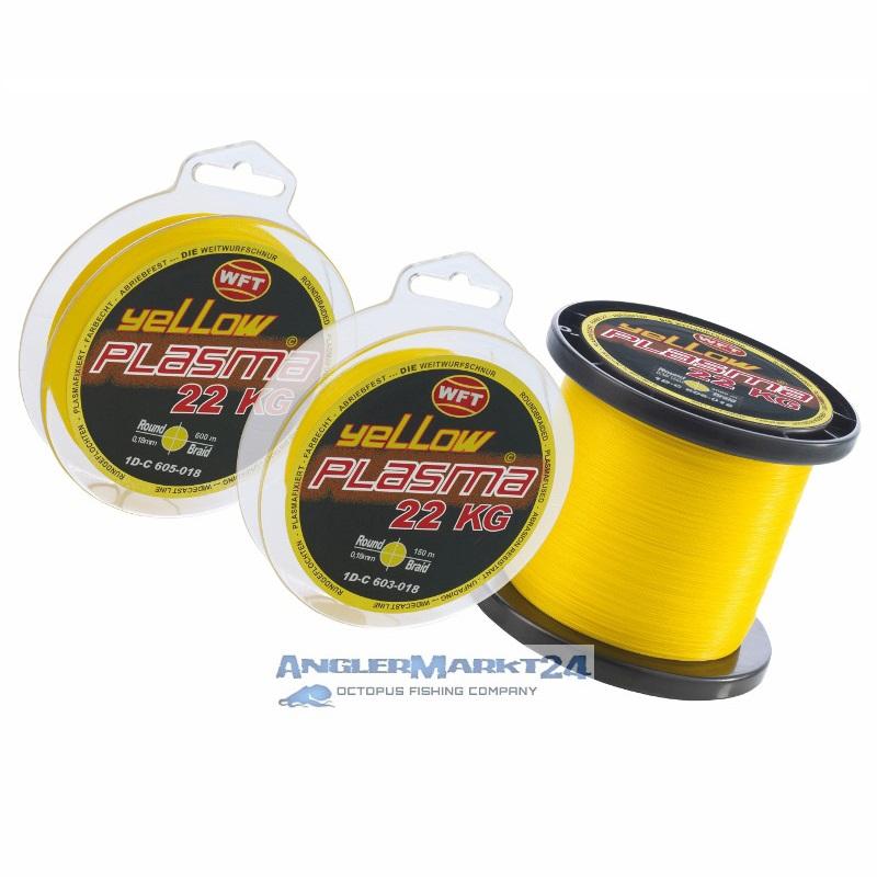 WFT *KG PLASMA ROUND Gelb* je 50m von der Großspule