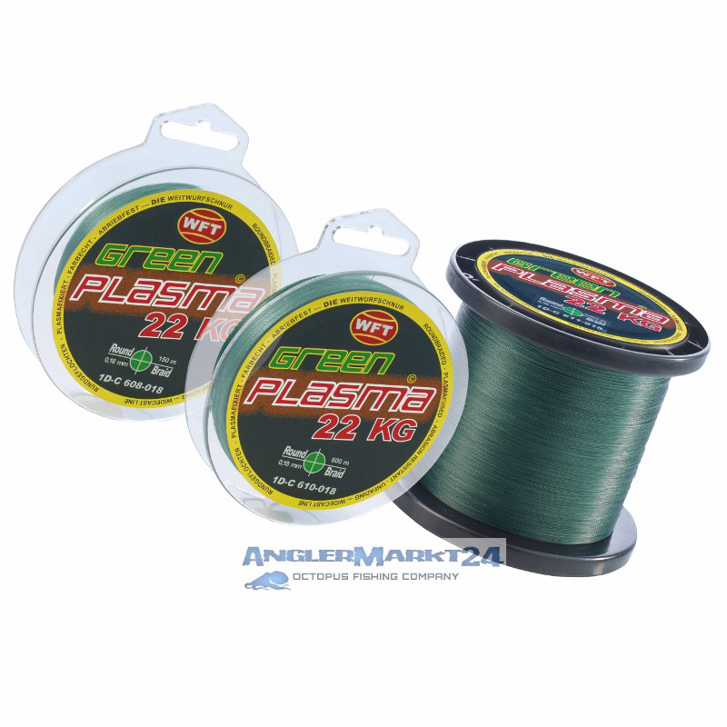 WFT *KG PLASMA ROUND Grün* je 50m von der Großspule