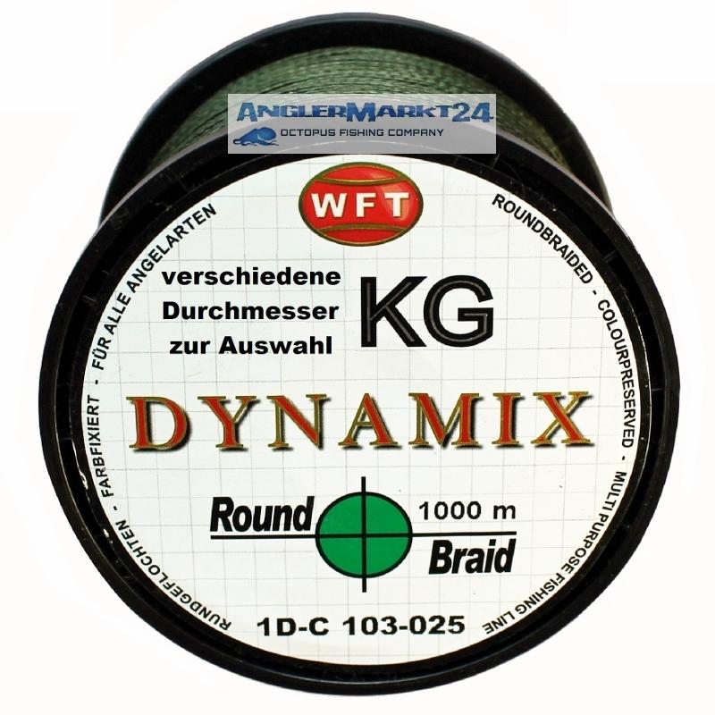 WFT Round DYNAMIX KG GRÜN 1000m Originalspule